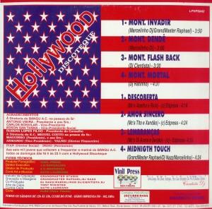 Hollywood Discotheque: a ciência do som, vol. 8, 1995 (contracapa)